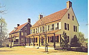 Salem Tavern Winston Salem NC Postcard p17540 (Image1)