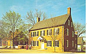 Vogler House Winston Salem  NC Postcard p17542 (Image1)