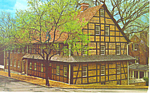 Single Brothers House Winston Salem Nc Postcard P17551