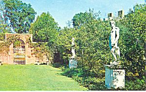 Garden Tryon Palace New Bern NC Postcard p17562 (Image1)