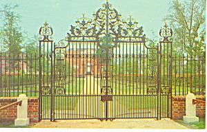 Tryon Palace Restoration New Bern NC Postcard p17563 (Image1)