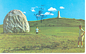 Wright Bros Take Off Site Kill Devil Hills NC Postcard p17574 (Image1)