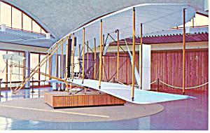 Wright Bros Plane Kill Devil Hills NC Postcard p17575 (Image1)
