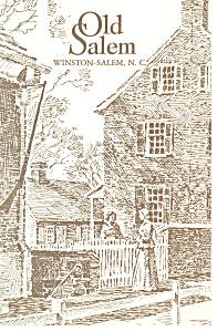 Scene in Old Salem Winston Salem NC Postcard p17576 (Image1)