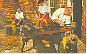 Old Salem,Winston Salem NC Postcard p17580 1968 (Image1)