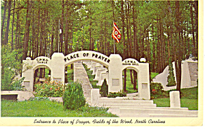Entrance Fields of the Woods NC Postcard p17588 1967 (Image1)
