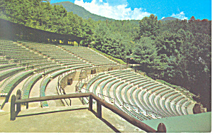 Mountainside Theatre, Cherokee,NC Postcard (Image1)
