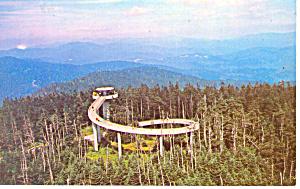 Clingmans Dome Tower, NC Postcard (Image1)