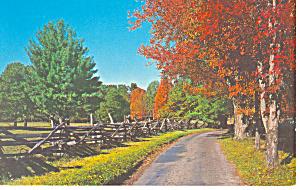 Cades Cove,Smoky Mountains NC Postcard (Image1)