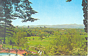 Asheville and Mt Pisgah NC Postcard p17615 (Image1)