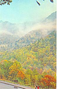 The Chimneys Smoky Mountains National Park NC Postcard p17616 (Image1)