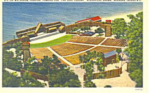 Waterside Theatre Roanoke Island NC Postcard p17621 (Image1)