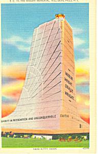 Wright Memorial Kill Devil Hills NC Postcard p17624 (Image1)