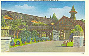 Eseeola  Lodge Linville  NC Postcard p17641 (Image1)