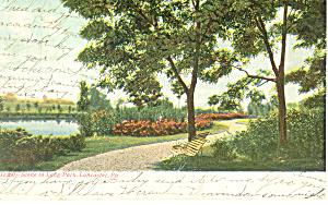Long Park Lancaster PA Postcard p17666 1907 (Image1)