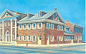 York Bank and Trust Co, York PA Postcard 1967 (Image1)