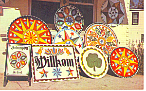 Dutch Country Hex Signs Pa Postcard P17715