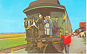 Strasburg Rail Road Postcard p17720 (Image1)