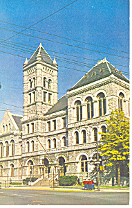 Post Office,Willamsport,PA Postcard 1963 (Image1)