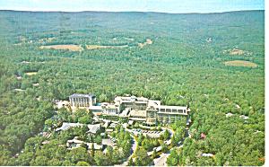 Aerial View Buck Hill Falls PA Postcard p17746 1979 (Image1)