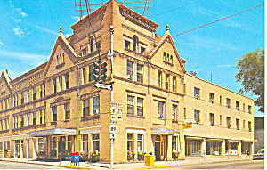 Colonel Drake Hotel Usville Pa Postcard P17747 1968 Paper And