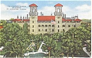 St Augustine FL Lightner Museum  Postcard p1774 (Image1)