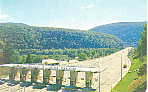 Delaware River Toll Bridge,PA Postcard (Image1)