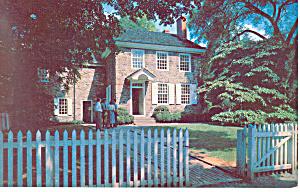 Washington s HeadquartersValley Forge PA Postcard p17788 (Image1)