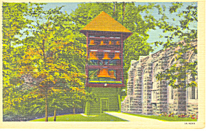 National Carillon, Valley Forge,PA Postcard (Image1)