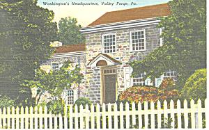 Washingtons Headquarters,Valley Forge,PA Postcard (Image1)
