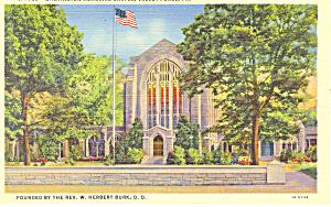 Washington Chapel,Valley Forge,PA Postcard (Image1)
