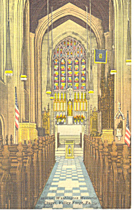 Washington Chapel, Valley Forge,PA Postcard (Image1)