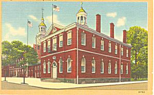 Congress Hall Philadelphia PA Postcard p17804 (Image1)