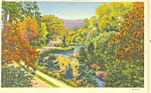 Fairmont Park Philadelphia PA Postcard p17813 1941 (Image1)