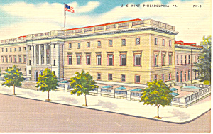 US Mint Philadelphia,PA Postcard (Image1)