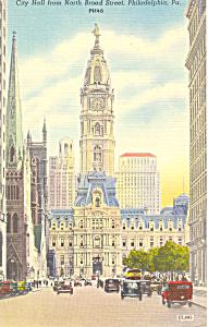 City Hall Mansion Philadelphia PA Postcard p17816 (Image1)