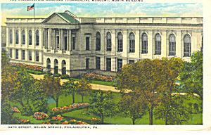 Philadelphia Museums Philadelphia PA Postcard p17825 1930 (Image1)