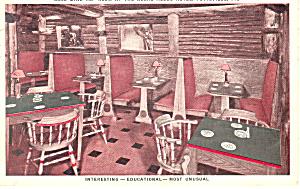 Coal Mine Tap Room Pottsville PA Postcard p17828 1938 (Image1)
