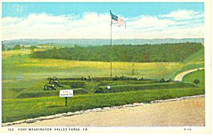 Fort Washington, Valley Forge, PA Postcard (Image1)