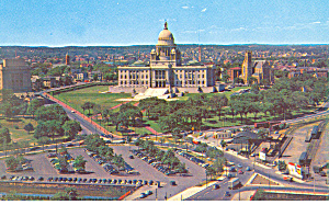 State Capitol,Providence, RI Postcard 1960 (Image1)