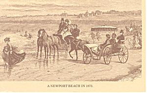Newport Beach RI Postcard p17845 1979 (Image1)