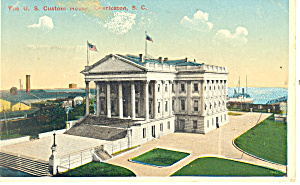 US Custom House Charleston, SC Postcard (Image1)
