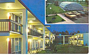 Quality Inn Florence SC Postcard p17872 1972 (Image1)