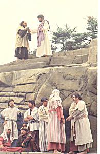 Jesus and Judas Heritage USA SC  Postcard p17885 (Image1)