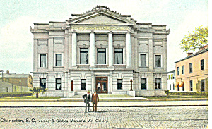 Gibbes Art Gallery, Charleston,SC  Postcard (Image1)