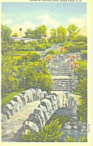Terrace Park Sioux Falls  SD  Postcard p17905 (Image1)