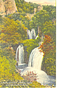 Roughlock Falls Black Hills  SD  Postcard p17913 (Image1)
