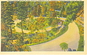 Double Spirals, Black Hills , SD  Postcard (Image1)