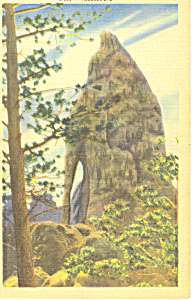 Needles Eye, Black Hills , SD  Postcard (Image1)