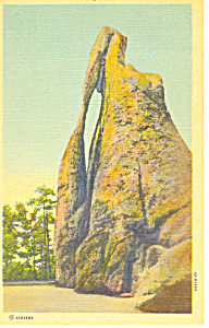 Needles Eye Black Hills Sd Postcard P17923